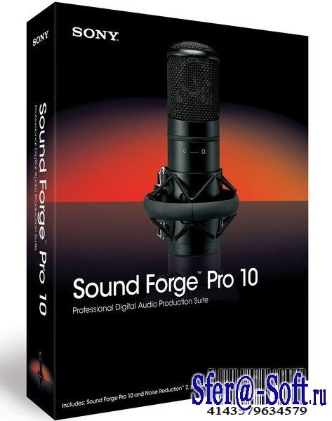 Sound Forge Pro 10.0.425 Eng/Rus