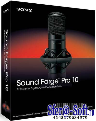 Sony Sound Forge Pro 10.0a (425) Rus Portable