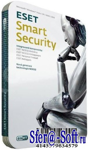 Eset Smart Security 4.0.474 Rus 32bit Mod 4.3 by Inetsofter 4.0.474 Rus