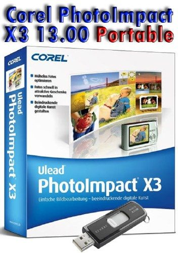 Corel PhotoImpact X3 13.00.0000.0 Portable