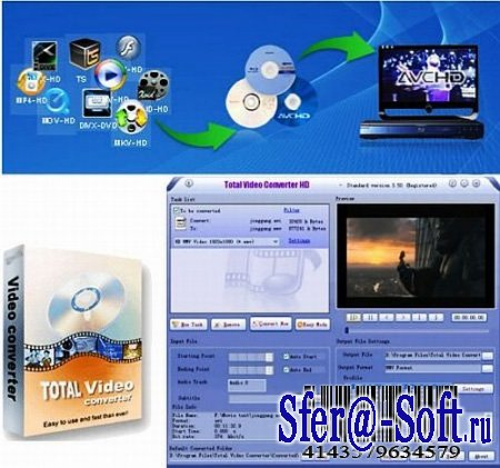 Total Video Converter HD 3.60