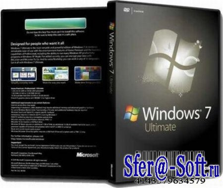 Windows 7 Ultimate 7600.16504 x64 RU Full Updates 15.02.10