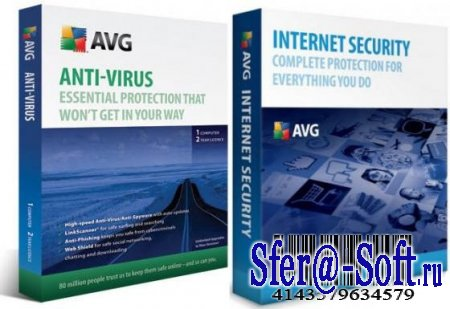 AVG Internet Security & AVG Anti-Virus Professional 9.0.733