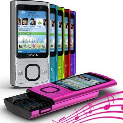 RINGTONES NOKIA 6700 SLIDE