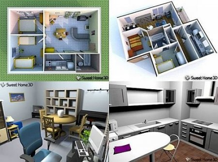 Sweet Home 3D 2.4 Rus Portable