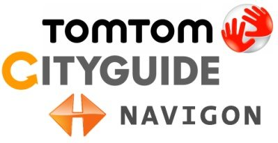 IPhone: TomTom v1.4.1 + Navigon Mobile Navigator 1.5.1 + City Guide 3.7.04 + Карты