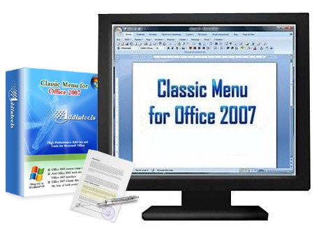 Classic Menu for Office 2007 v 5.25 ML RUS