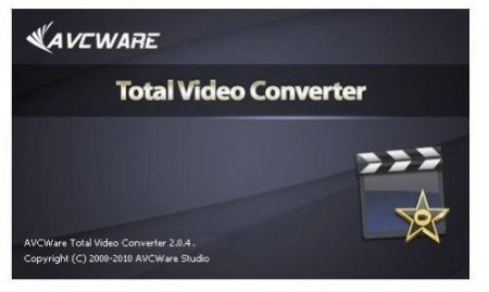AVCWare Total Video Converter 2.0.4 build 0806