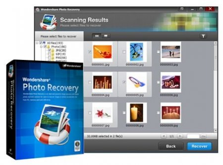 Wondershare Photo Recovery v 2.0.0.8