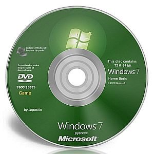 Windows 7 Home Basic 7600 x86-x64 ru-RU Game